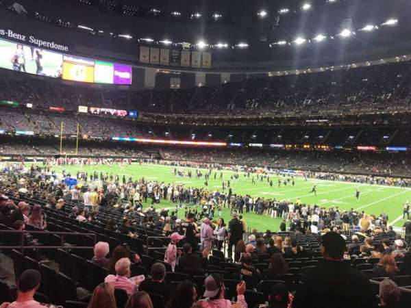 Mercedes-Benz Superdome, section: 137, row: 22, seat: 7