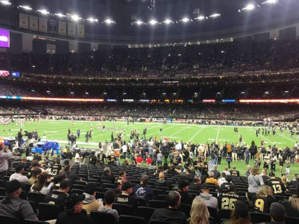 Mercedes-Benz Superdome, section: 140, row: 20, seat: 7