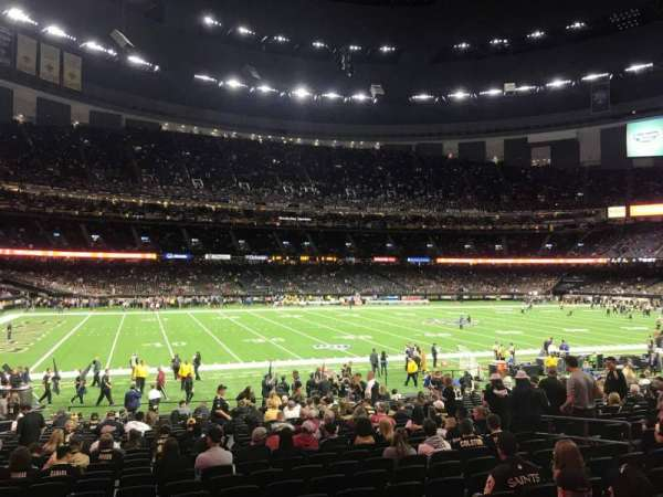 Mercedes-Benz Superdome, section: 145, row: 25, seat: 13