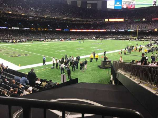 Caesars Superdome, section: 150, row: 23, seat: 1