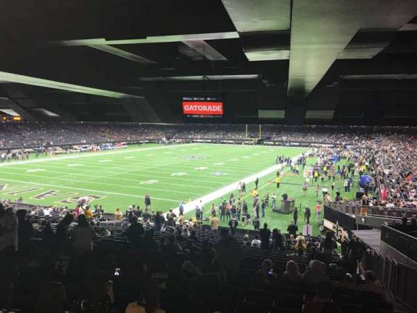 Caesars Superdome, section: 152, row: 28, seat: 6