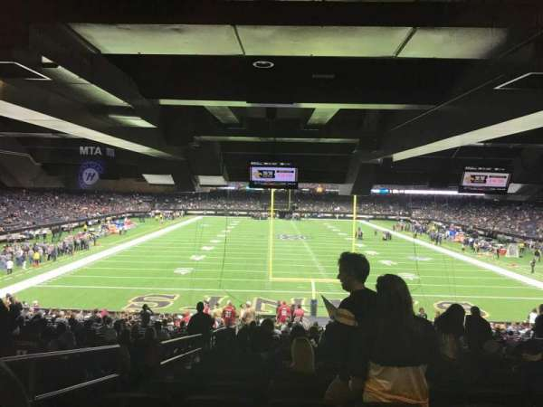 Mercedes-Benz Superdome, section: 156