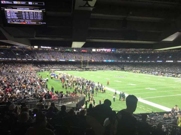 Mercedes-Benz Superdome, section: 106, row: 33, seat: 7