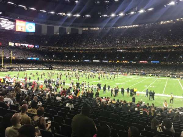 Mercedes-Benz Superdome, section: 111, row: 23, seat: 4