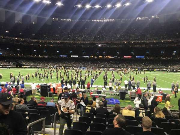 Mercedes-Benz Superdome, section: 113, row: 13, seat: 20