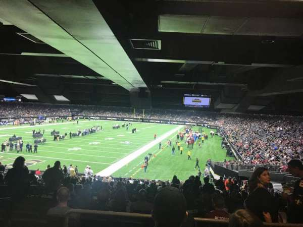 Mercedes-Benz Superdome, section: 124