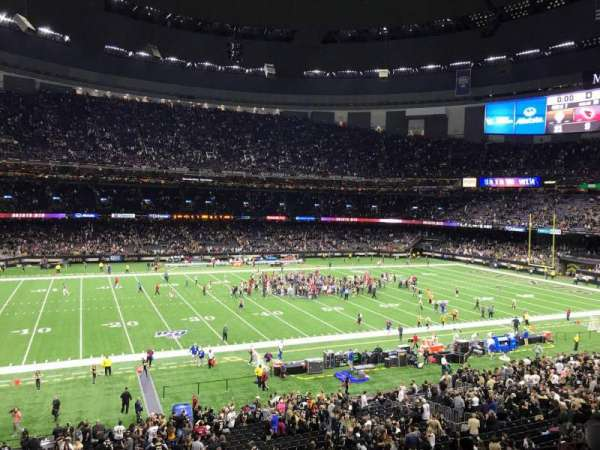 Mercedes-Benz Superdome, section: 339, row: 9, seat: 7