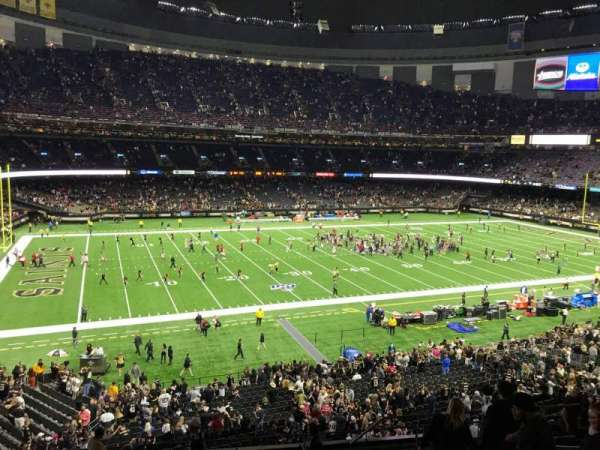 Mercedes-Benz Superdome, section: 310, row: 13, seat: 6