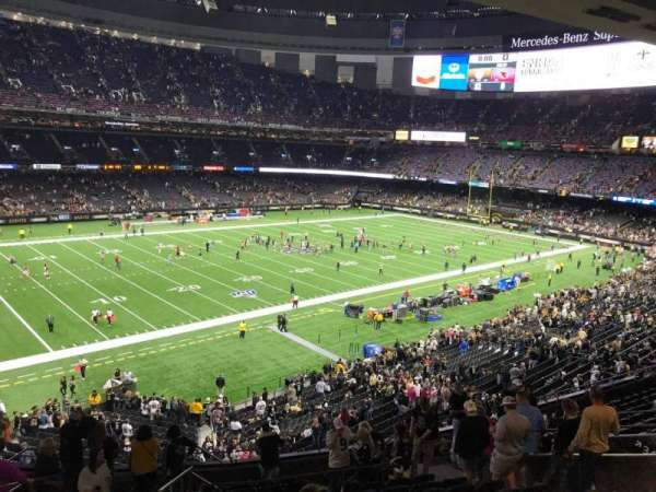 Mercedes-Benz Superdome, section: 341, row: 16, seat: 12