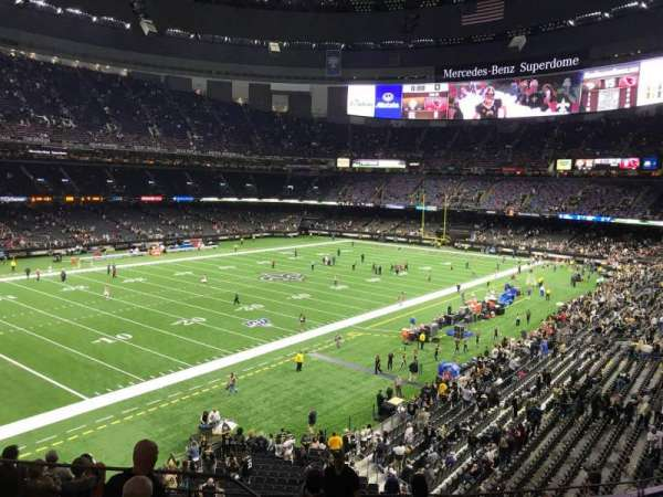 Mercedes-Benz Superdome, section: 342, row: 11, seat: 16