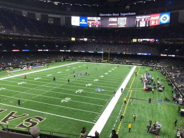 Mercedes-Benz Superdome, section: 345, row: 10, seat: 13