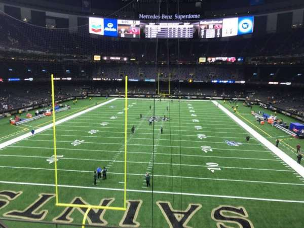 Mercedes-Benz Superdome, section: 347, row: 7, seat: 18