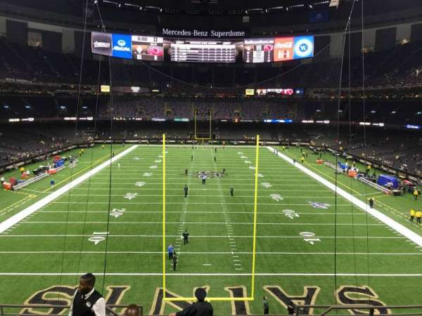 Mercedes-Benz Superdome, section: 338, row: 10, seat: 8