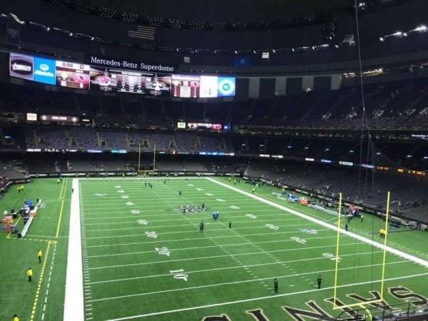 Mercedes-Benz Superdome, section: 302, row: 17, seat: 17