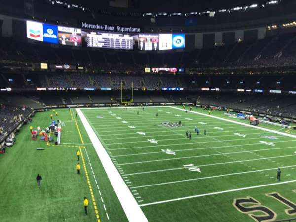 Mercedes-Benz Superdome, section: 302, row: 7, seat: 8