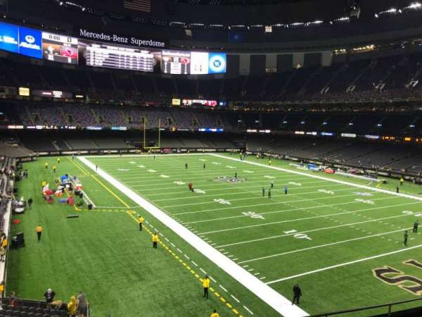 Mercedes-Benz Superdome, section: 304, row: 7, seat: 6
