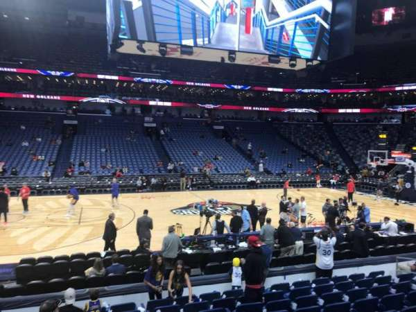 Smoothie King Center, section: 113, row: 13, seat: 14