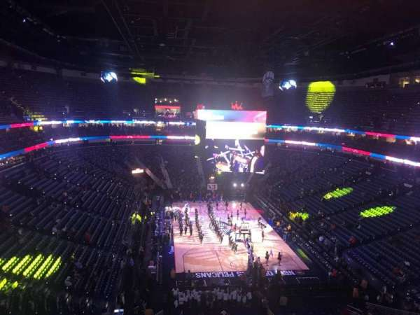 Smoothie King Center, section: 309, row: 4, seat: 10