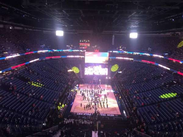 Smoothie King Center, section: 308, row: 11, seat: 8
