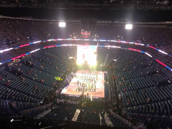 Smoothie King Center, section: 307, row: 17, seat: 14