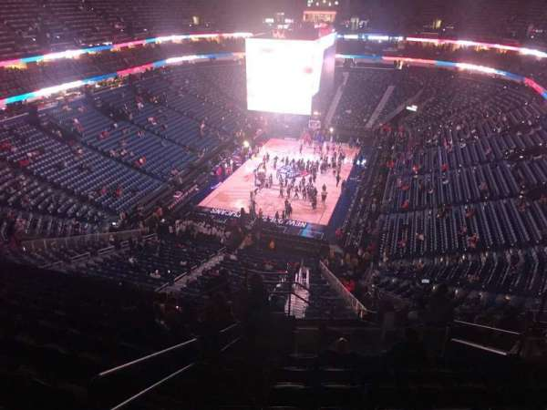 Smoothie King Center, section: 306, row: 12, seat: 18