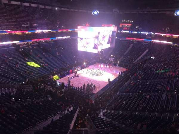 Smoothie King Center, section: 305, row: 7, seat: 12
