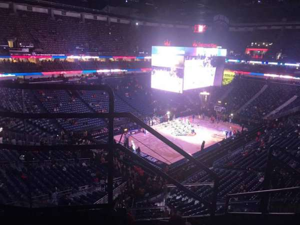 Smoothie King Center, section: 304, row: 5, seat: 5