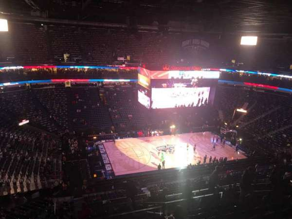 Smoothie King Center, section: 302, row: 13, seat: 14