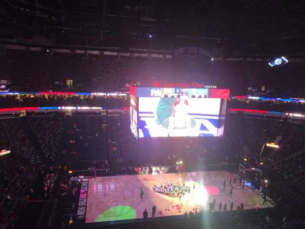 Smoothie King Center, section: 301, row: 7, seat: 15