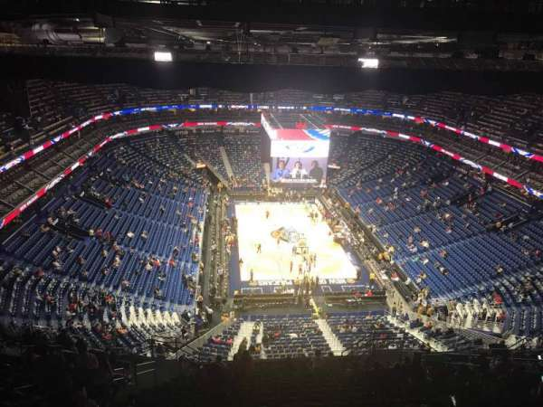 Smoothie King Center, section: 325, row: 20, seat: 12