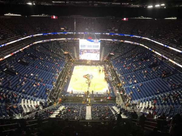 Smoothie King Center, section: 324, row: 18, seat: 7