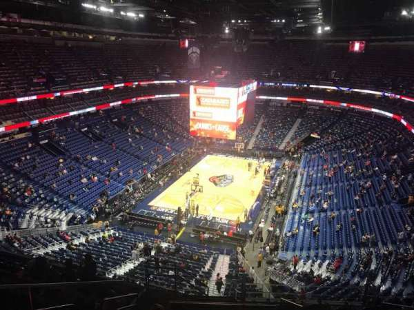 Smoothie King Center, section: 322, row: 13, seat: 17