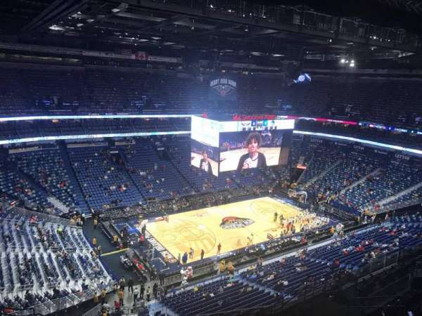 Smoothie King Center, section: 319, row: 14, seat: 16