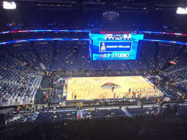 Smoothie King Center, section: 317, row: 14, seat: 14