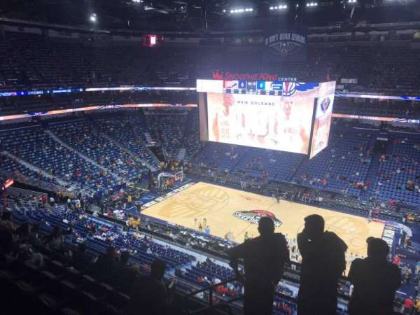 Smoothie King Center, section: 314, row: 7, seat: 18