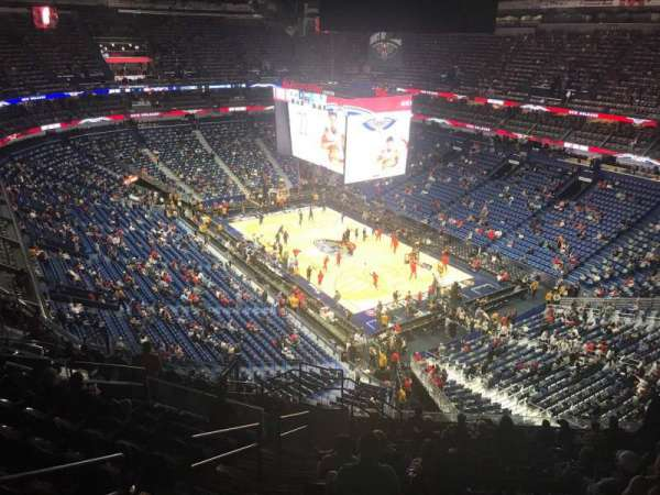 Smoothie King Center, section: 311, row: 14, seat: 20