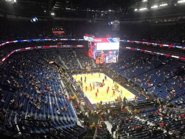 Smoothie King Center, section: 310, row: 8, seat: 15