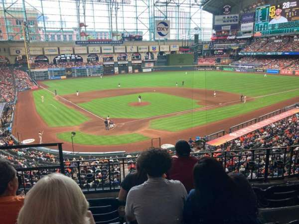 Minute Maid Park, section: 221, row: 4, seat: 3