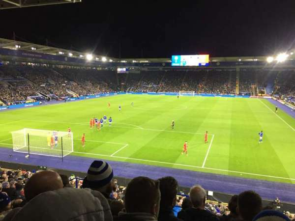 King Power Stadium, section: SK1, row: Z, seat: 180