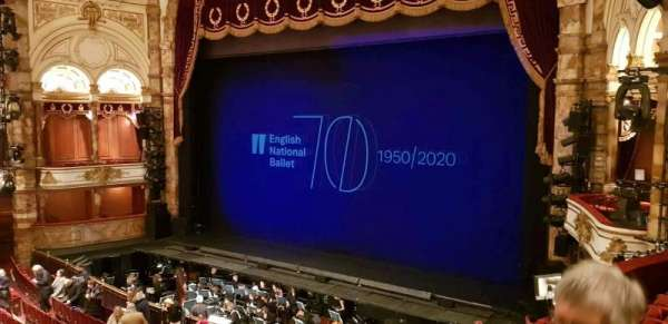 London Coliseum, section: Dress Circle, row: C, seat: 14