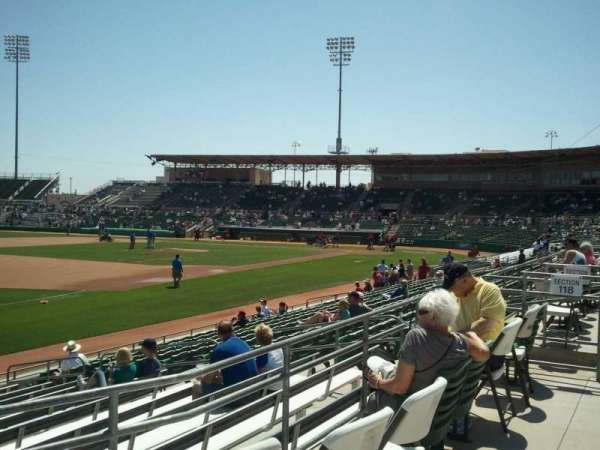 Hohokam Stadium, section: 118
