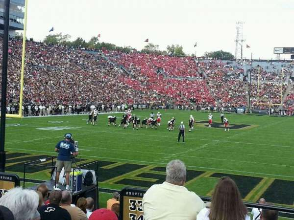 Ross-Ade Stadium, section: 33, row: 4, seat: 13