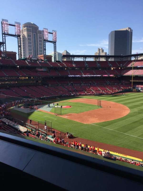 Busch Stadium, section: 237, row: 1, seat: 7
