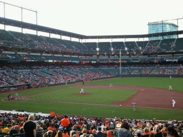 Oriole Park at Camden Yards, section: 17, row: 1, seat: 10
