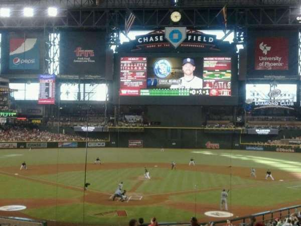 Chase Field, section: 121, row: 35, seat: 15