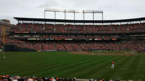 Oriole Park at Camden Yards, section: 82, row: 18, seat: 19