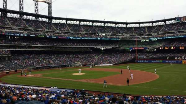 Citi Field, section: 110, row: 29, seat: 1
