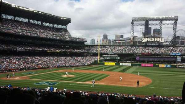 T-Mobile Park, section: 120, row: 38, seat: 2