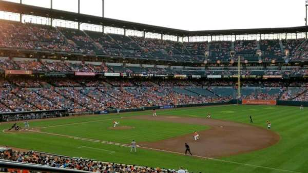 Oriole Park at Camden Yards, section: 13, row: 6, seat: 23