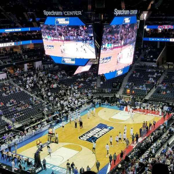 Spectrum Center, section: 214, row: G, seat: 2